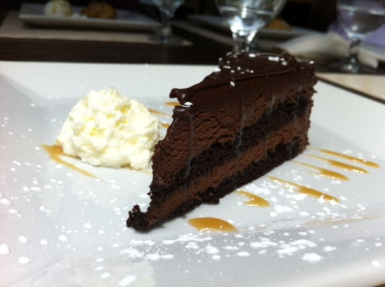 vaticano chocolate cake